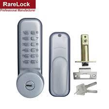 digital office door handle locks. Rarelock Christmas Supplies Keypad Mechanical Combination Door Handle Lock  With Keys Digital Locks For Office Bedroom Digital Office Door Handle Locks R