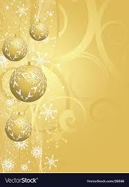 gold christmas background. Delighful Background Gold Christmas Background Vector Image On Background VectorStock