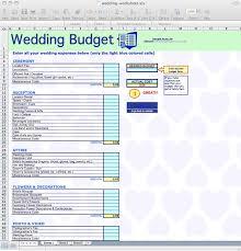 Wedding Excel Budget Rome Fontanacountryinn Com