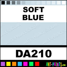 Americana Acrylic Paint Color Chart Soft Blue Americana Acrylic Paints Da210 Soft Blue Paint