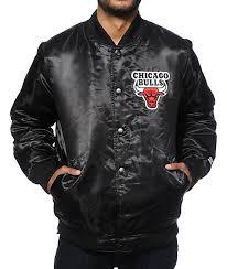 starter chicago bulls satin jacket