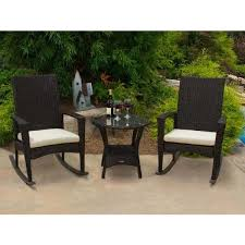 outdoors rocking chairs. Bayview Rocking Chair 3 Piece Set By Tortuga Outdoor - Furniture Outdoors Chairs O