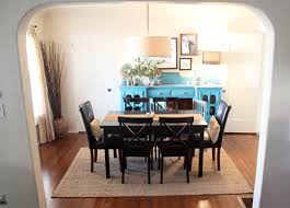 incredible jute rug under kitchen table dining room update rug tour pepper design blog