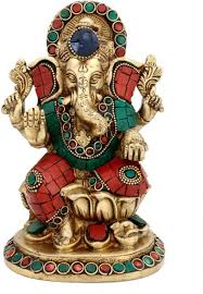Small Picture Exclusive Collectible India Brass Large God Ganesha Statue Hindu