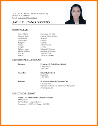 Resume Example Tagalog Resume Ixiplay Free Resume Samples