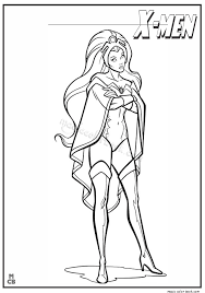 Small Picture X men coloring pages free printable 07
