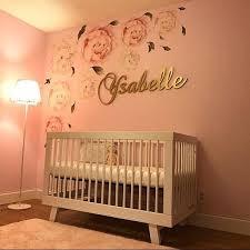 personalized baby girl nursery decor wood letters wall letters gold nursery baby girl nursery decor