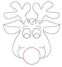 Small Picture Rudolph Coloring Sheets Printable The Red Nose Reindeer Archives