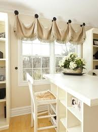 cool way to hang curtains without a rod