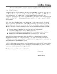 Cover Letter Online 22 Cover Letter Template For Social Worker