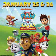 Paw Patrol Live Race To The Rescue Tpac