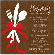 Invitation Card For Dinner Party Printable Holiday Dinner Party Invitation Inspirational Dinner Party