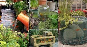 1 Here we have gathered Cool Garden or Backyard Aquarium Ideas ...