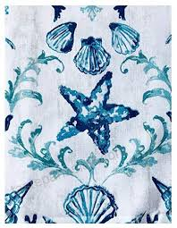 blue lyra c reef summer and spring indoor outdoor soil resistant and water repellent fabric