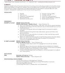 Middle School Teacher Resume History Teacher Cover Letter History ...