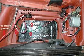 vw bug voltage regulator wiring vw image wiring thesamba com beetle late model super 1968 up view topic