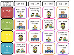 Reading Center Rotation Chart Literacy Center Rotations Schedule That I Understand