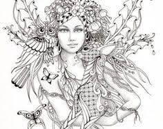 Printable Fairy For Adults Free Coloring Pages On Art Coloring Pages