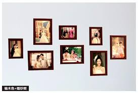 attractive wedding wall photo frames good wood wall frames per picture frame ideas 8 pcs set used for framed family wedding memory home photo frame set