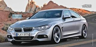 Coupe Series bmw 435i xdrive gran coupe : New BMW 4 Series Gran Coupe Renders