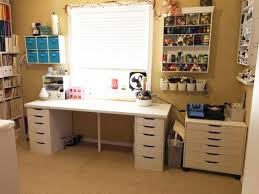Ikea office ideas photos Executive Ikea Craft Room Tables And Desk Ideas And Hacks By Reader Heather Carter Jennifer Maker The Best Ikea Craft Room Tables And Desks Ideas Jennifer Maker
