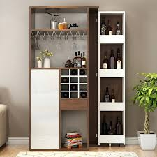 interior design for hall cupboards private modern minimalist folding tescopic small bar tab living room wine