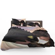 how to train your dragon hiccup toothless bedding set 1