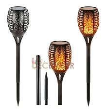 Outdoor torch lights Backyard Solar Tiki Torches Led Solar Garden Torch Lights Dancing Flame Lighting Outdoor Waterproof Flickering Torches Landscape Patio Decoration Lamp From Solar Tiki Torches Led Solar Garden Torch Lights Dancing Flame