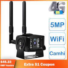 3G 4G SIM Card Smart I Dome Camera WIFI Security Camera Outdoor 5M 1080 HD  CCTV Home Surveillance Camera Metal 2 Camhi-*