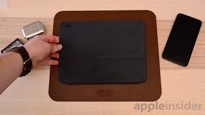 The smart folio for ipad pro is constructed from a single piece of polyurethane to protect the front and back of your device. Review Apple S Smart Keyboard Folio Is The Best Option For The Ipad Pro But Has Too Many Compromises Appleinsider
