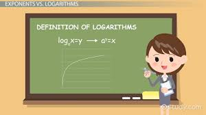 logarithmic function definition examples lesson transcript study com