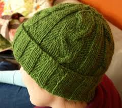 Free Knitted Hat Patterns On Circular Needles Adorable Men's Cabled Hat Pattern 48 Stitches