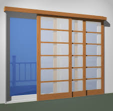 3 sliding doors 3 tracks fits openings less than 102in x 80in
