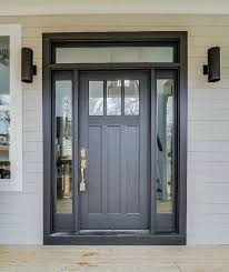 white craftsman front door.  Craftsman Craftsman Door With Sidelights Image Result For Black Front  White Throughout White Craftsman Front Door N