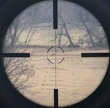 Windage Chart Long Range Shooting Using A Bdc Scope Reticle