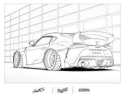 Here you can find coloring pages with cars of any kind. Get Crafty With These Amazing Classic Car Coloring Pages