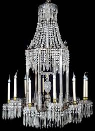 a spectacular and large antique english regency cut crystal and bronze multi light paa form octagonal