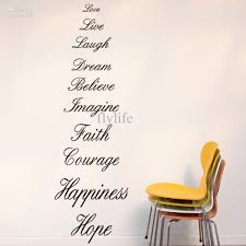 the most meaningful words in life large vinyl wall lettering stickers quotes and sayings home art decor decal decal art for walls decal decor from flylife  on large vinyl wall decal quotes with the most meaningful words in life large vinyl wall lettering
