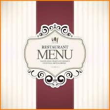 6 Fancy Restaurant Menu Cover Lbl Home Defense Products