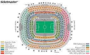Estadio Azteca Seating Chart Nfl Best Picture Of Chart