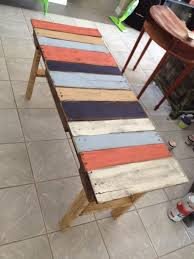 New table! For Sale...painted pallet table, entry or sofa table