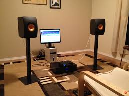 kef ls50 stands. here is a new shot of my setup with the 107s gone, stands and wires tidied up bit. kef ls50 y