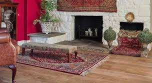 oak look vinyl flooring in a living room