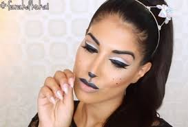 glam cat makeup 5 easy cat makeup ideas for lazy s can get excit