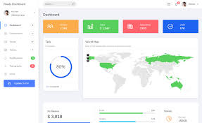 Simple And Responsive Free Bootstrap Admin Dashboard Template