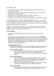 Skills And Strengths List List Of Key Strengths Magdalene Project Org