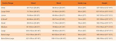 73 Timeless Crewsaver Drysuit Size Chart