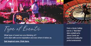 Party Planning Holiday Events James Event Productions