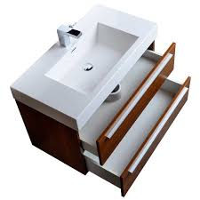 contemporary bathroom vanities 36 inch. Teak 36 Inch Wall Mounted Bathroom Vanity With Double Drawers For Furniture Ideas Contemporary Vanities