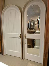 Arched Door with Mirror in Jamb | Out of the Box